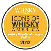 Whisky Retailer of the year Online 2012