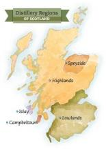 Distillery Regions of Scotland