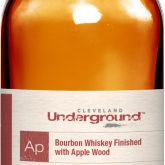Cleveland Underground Apple Wood Finished Bourbon Whiskey (750mL)
