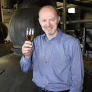 Graham Eunson of the Tomatin Distillery