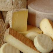 The range of cheeses from Loch Arthur, including Criffel