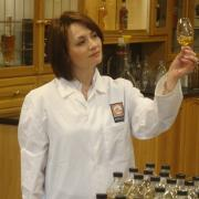 Rachel Barrie in her lab
