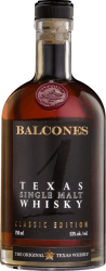 "Balcones Texas ""1"" Single Malt Whiskey (750mL)"
