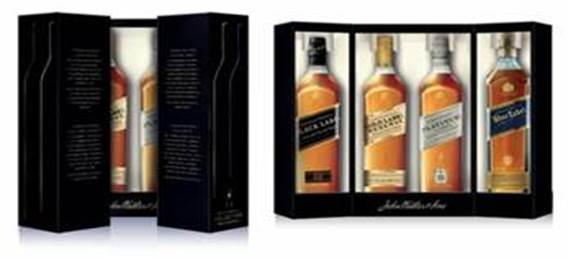 johnnie walker the collection four 200ml bottles forwhiskeylovers